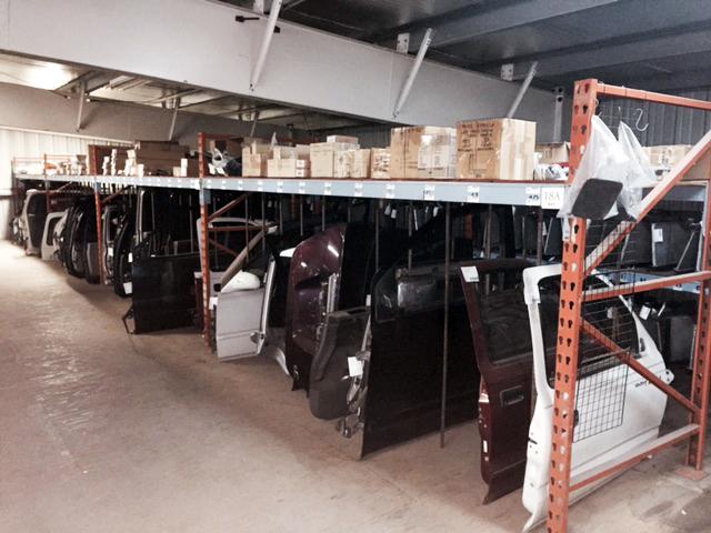 extensive car part inventory